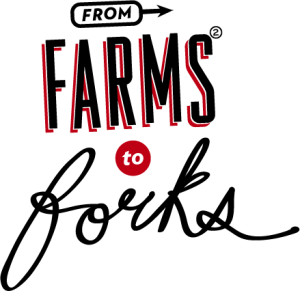 """Graphic text reads """"From Farms to Forks 2"""""""